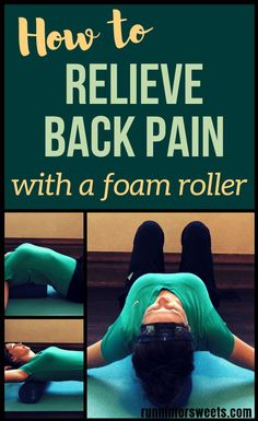 If you suffer from upper or lower back pain, these simple foam roller exercises will give you the relief you've been craving. These foam roller exercises have eliminated my upper and lower back pain, as well as increased my range of motion. In less than 5 Upper Back Exercises, Back Stretches For Pain, Yoga For Back Pain, Relieve Back Pain, Back Roller Exercises, Exercises For Rounded Shoulders, Roller Workout, Lower Back Pain Relief, Upper Back Pain