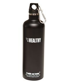 Freddie and Sebbie Best Stainless Steel Water Bottles - Insulated Water Bottle - 27oz Sports Drinking Bottle >>> Read more reviews of the product by visiting the link on the image.