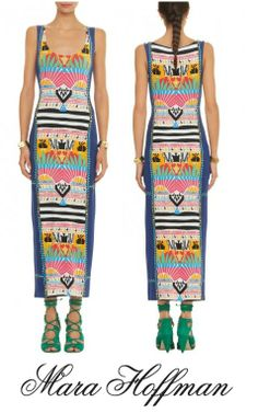 The Mara Hoffman tank dress is here! Inquiries contact- info@shopserafina.com or (626)799-9899.