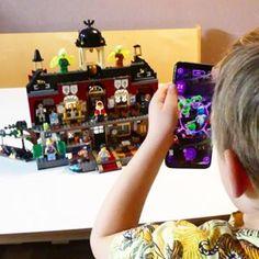 Bouwen met Duplo; 93 voorbeelden en inspiratie voor peuters en kleuters - Mamaliefde.nl Popcorn Snacks, Crafts For Kids, Crafts For Children, Kids Arts And Crafts, Kid Crafts, Craft Kids