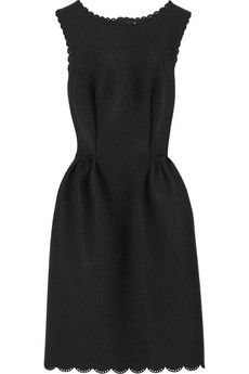 Very similar dress on JCrew Factory-Lanvin Perforated scuba-jersey dress | NET-A-PORTER