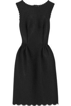 Very similar dress on JCrew Factory-Lanvin Perforated scuba-jersey dress | NET-A-PORTER
