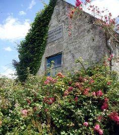 Deserted school on Whiddy Island in Bantry Bay, County Cork - Ireland