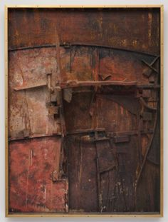 Edward Kienholz: The Medicine Show, mixed media assemblage, 69 x 48x 6 inches, 1958-59