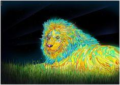 Lion by Matei Apostolescu
