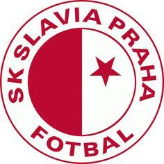 SK Slavia Praha (Sportovní klub Slavia Praha - fotbal a. Badges, Image Foot, Jersey Atletico Madrid, Soccer Match, Soccer Teams, Soccer Logo, Matches Today, Fifa