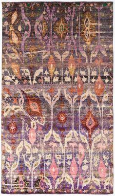 "Silk Ethos 5'10""x10'3"": Ethos oriental rugs runner rugs outdoor rugs bath rugs antiques rugs kitchen rugs bathroom rugs round rugs modern rugs carpets NYC - ABC Carpet & Home"