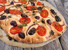 Frisk, Allrecipes, Vegetable Pizza, Tapas, Mini, Baking, Vegetables, Party, Olives