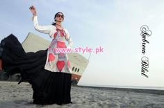 Ambreen Bilal Party Dresses 2013 For Valentine's Day