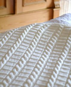 Knitting Pattern for Afghan Blanket/Throw - This listing is a Knitting Pattern and NOT a finished Item. Easy Knitting Pattern for Blanket in Three sizes - instructions written separately for each size: - Large Afghan or Throw/ crib blanket: 45 x 62 (114cms x 157cms). Medium Size Throw/