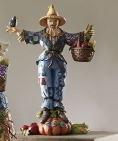 Welcome Harvest Friends Scarecrow - Jim Shore