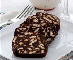 Salame dolce di cioccolato