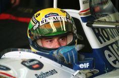 IMOLA, Itália: Brasil de Fórmula Um motorista Ayrton Senna em seu Williams-Renault 30 de a...