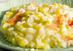 WW Leek and Ham Risotto - Main Course and Recipe - Risotto with leeks and ham WW, recipe for a good light risotto, with a creamy texture, easy to make - Seafood Pasta Recipes, Seafood Stew, Leek Recipes, Vegetable Recipes, Healthy Gluten Free Recipes, Healthy Salad Recipes, Macaroni And Cheese, Cheese Soup, Cooking Recipes