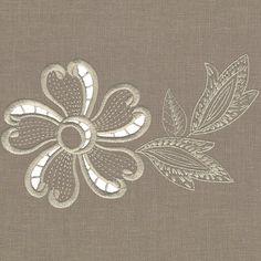 machine embroidery cutwork design