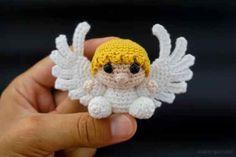 Tutorial Angioletto Amigurumi : Angelo amigurumi tutorial angel crochet angelito crochet