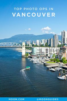 Vancouver is a highly photogenic city. Not only is packed with amazing food and incredible art, but it has some pretty unbeatable views. While you're exploring the city, check out these 6 scenic spots that make for a perfectly Instagrammable post of your travels. #photography #vancouver #canada