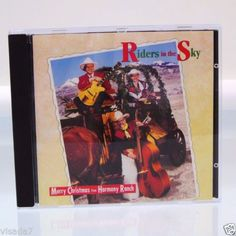 Riders-in-the-Sky-Merry-Christmas-From-Harmony-Ranch-CD-1992-Sony-Music-Cowboy