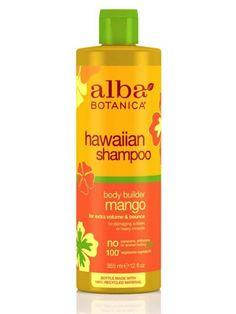 The 14 Best Shampoos, Conditioners for Fine Hair: Alba Botanical Hawaiian Shampoo Body Builder $10.50.