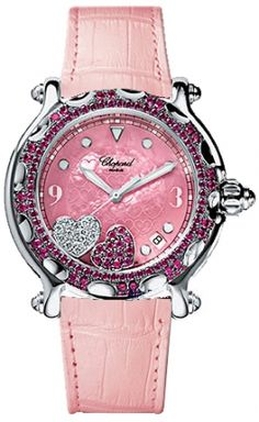 Happy Hearts Chopard Diamond & Ruby Watch