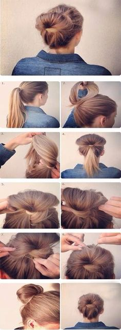 Easy To Do Hairstyle When Your In A Hurry