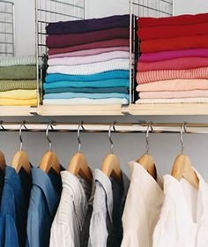 #organization, #closet    View entire slideshow: Step by Step Guide to Closet Organization on http://www.stylemepretty.com/collection/255/