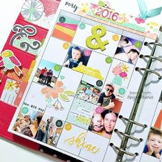 Memory Keeping in Planner by @idocumentlife | add small pics to the monthly calendar to capture memories throughout the month! #sssunshineandhappiness