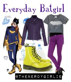 The Nerdy Girlie: Everyday Cosplay: Batgirl
