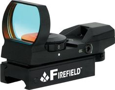 FIREFIELD BLACK REFLEX GUN SIGHT by Survival. $68.99. FIREFIELD BLACK REFLEX SIGHT. COMPATIBLE WITH AR PLATFORMS, BOLT ACTION, SHOTGUNS, AIR RIFLES & SOME HANDGUNS. QUICK & ACCURATE TARGET ACQUISITION. COMPACT & DURABLE. PERFECT FOR RAPID FIRE OR MOVING TARGET SHOOTING. UNLIMITED EYE RELIEF. ADJUSTABLE RETICLE BRIGHTNESS. CHOICE OF 4 RETICLE PATTERNS: 3 MOA DOT, CROSSHAIR, 10 MOA DOT CROSSHAIR & 65 MOA CIRCLE WITH 3 MOA DOT. INCLUDES: ADJUSTMENT TOOLS (2 ALLEN WRENCHE...