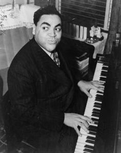 jazz piano player Fats Waller
