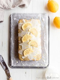 lemon poppyseed loaf with glaze Can You Freeze Lemons, Freezing Lemons, Brunch Recipes, Breakfast Recipes, Poppy Seed Bread, How To Make Waffles, Lemon Poppyseed Muffins, Food Words, Fresh Lemon Juice