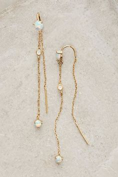 Shop the cutest Threaded Calmetto Earrings from Anthro on Keep!