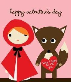 valentines red . . . HAHAHA