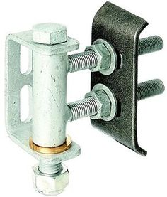 Gah-Alberts 411350 Gate Hinge for 180° Opening / Adjustable Levels / Hot-Dip Galvanised / for Welding / M16 / Max. Load 300 Kg GAH-ALBERTS http://www.amazon.co.uk/dp/B008H0DR50/ref=cm_sw_r_pi_dp_pHkbvb1QHKXWR