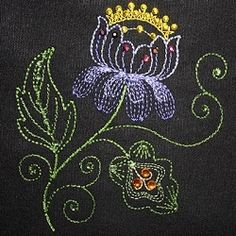 Jacobean Wonder 7 - 4x4 | What's New | Machine Embroidery Designs | SWAKembroidery.com Young at Heart Embroidery