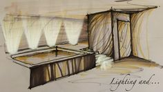 #sketch #schizzo #casa #home #maison #luce #light #dessiner #design #disegno #colors #colori #conception #lumière #handsketch