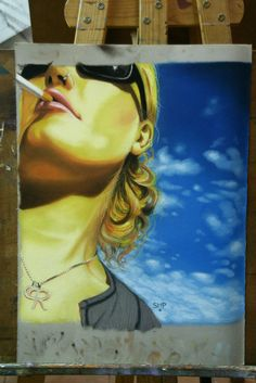 www.academiataure.com #drawing #pastel #portrait