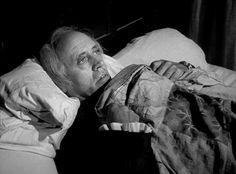 The night before Christmas: Alastair Sim as Ebenezer Scrooge