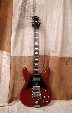 The Epiphone Crestwood Custom