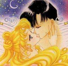 Usagi e Mamoru Sailor Moon di Naoko Takeuchi