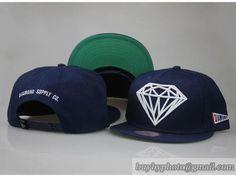 Men s Diamond Supply Co The Brilliant Embroidery Logo Fashion Snapback Hat  - Navy d7e62aced578