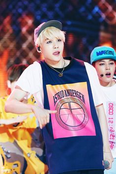 Just looking at Suga's face I thought it was F(X)'s Amber for a second. When your crush also looks like your girl crush. MERGE THEM ALL.