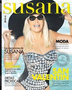 Revista Susana, la revista de la diva argentina por excelencia Susana Giménez