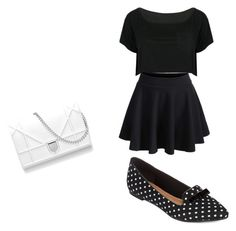"""""""Untitled #112"""" by madisonwatson06 ❤ liked on Polyvore featuring WithChic and Restricted"""