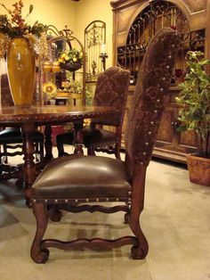 Salado Texas Tuscan Furniture - Accents of Salado Tuscan Furniture Store Tuscan Bedroom, Dining Room, Living Room Furniture. Tuscan Furniture, Dining Furniture Sets, Dining Rooms, Tuscan Decorating, Decorating Your Home, Tuscan Bedroom, Tuscan Style Homes, World Decor, Dinning Chairs
