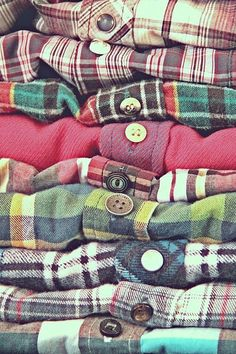Plaid...Oh Wow! My favorite. Want them all. One style I'm happy to see come back around.