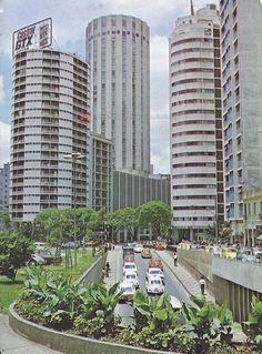 Roosevelt Square in 1978 - Sao Paulo, Brazil