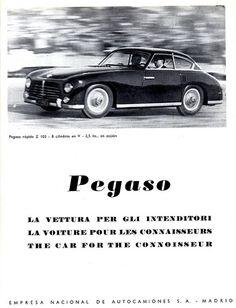 1953 Pegaso Z 102 Berlinetta, Coachwork by Pegaso
