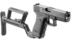 Tactical Collapsible Stock for Glock 19 - GLR440 and for Glock 17 - GLR17