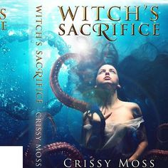 """""""Witch's Sacrifice"""" is on sale this week for 99 cents to celebrate the release of the second book in the series. Find it on amazon.  #sale #book_covers #books #fantasy #amwriting #amwritingfantasy #mermaid #witch"""